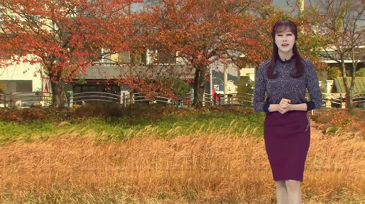 모닝와이드 날씨 11월22일(금)
