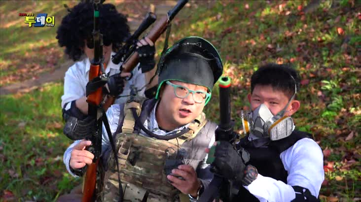(11/22 방영) 한판 붙자, 서바이벌 슈팅게임 – 창원 밀리터리 게임 페스타
