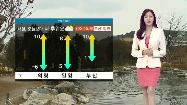 뉴스아이 날씨 12월19일(목)