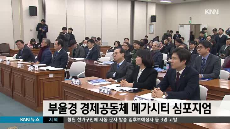 부울경 경제공동체 메가시티 심포지엄 개최