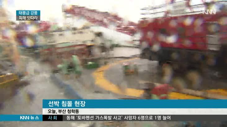 '태풍급 강풍'..'뒤집히고 떨어지고' 피해 잇따라