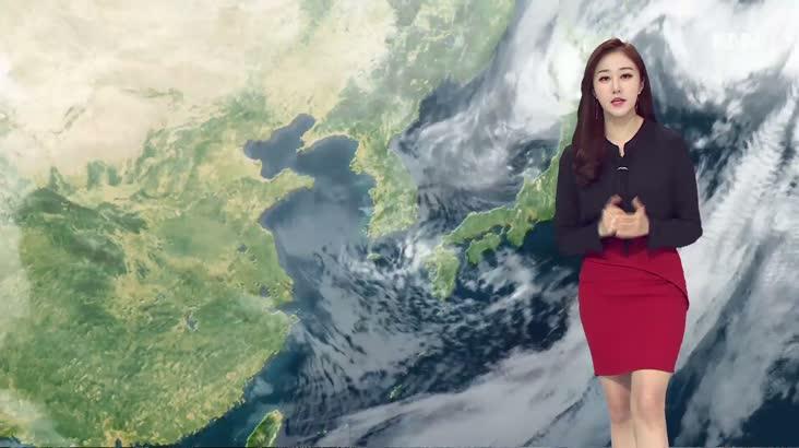 모닝와이드 날씨 1월30일(목)