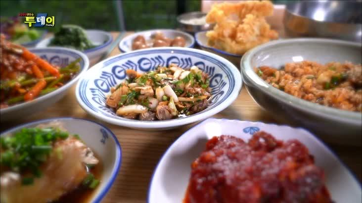 (01/31 방영) 부산.경남 맛지도 – 꼬막 비빔밥 &꼬막 수육 정식