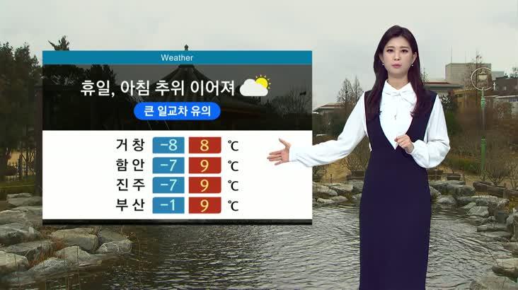 뉴스아이 날씨 2월8일(토)