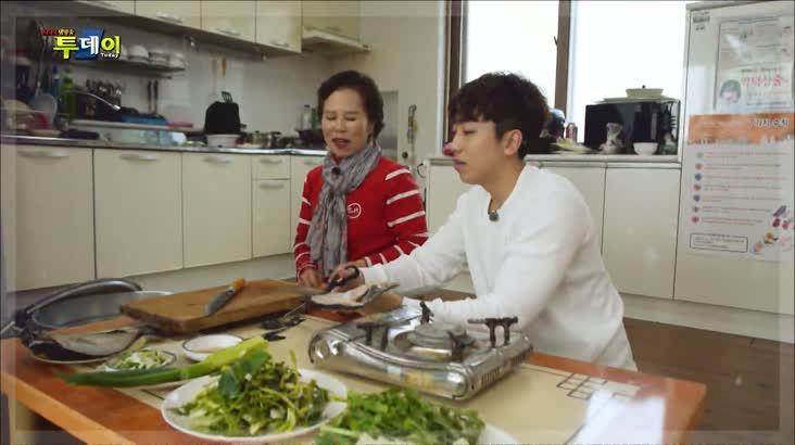 (02/26 방영) 시골레시피 – 감태밥상