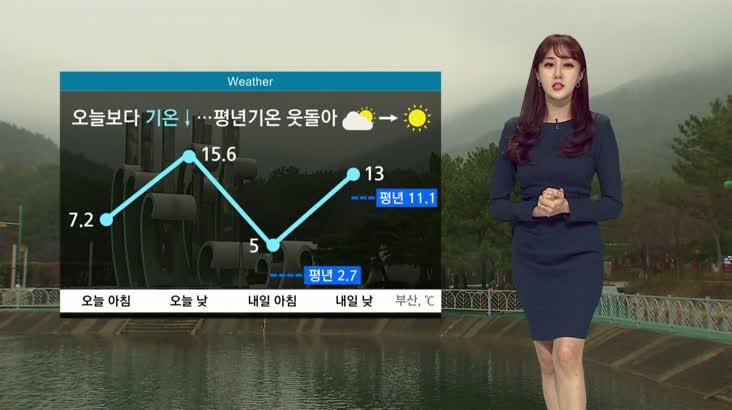 뉴스아이 날씨 3월1일(일)