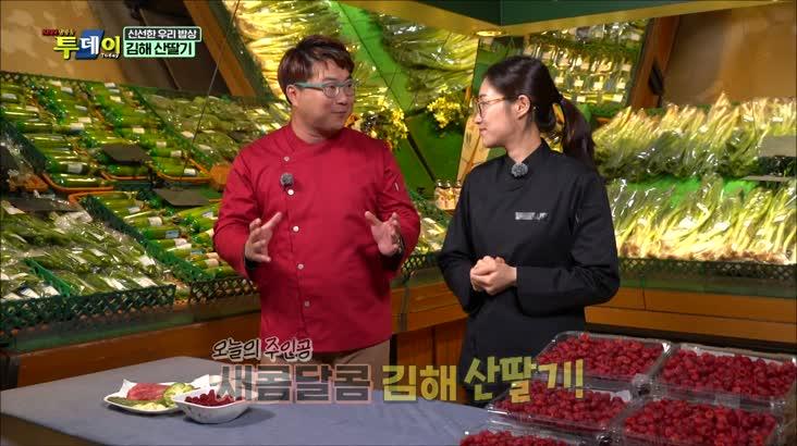 (04/23 방영) 신선한 우리밥상 – 김해 산딸기