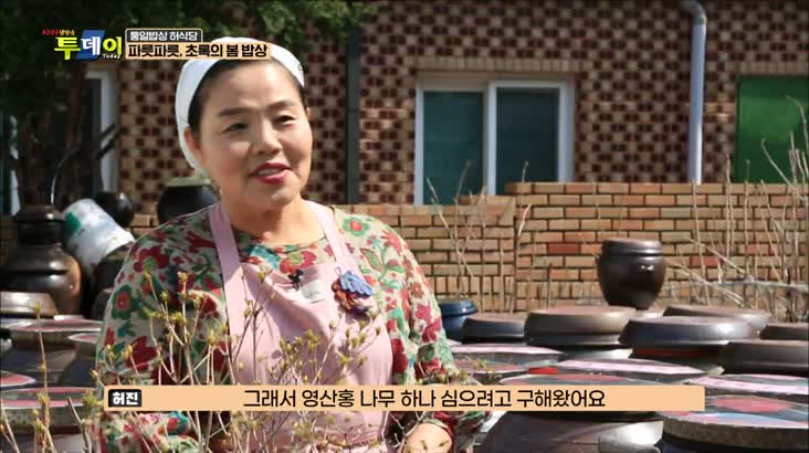 (04/27 방영) 통일밥상 허식당 – 파릇파릇, 초록의 봄 밥상