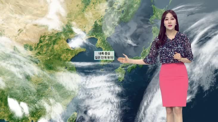 모닝와이드 날씨 5월21일(목)