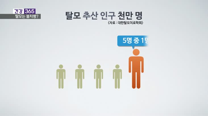 [건강365]탈모는 불치병? 오해와 진실
