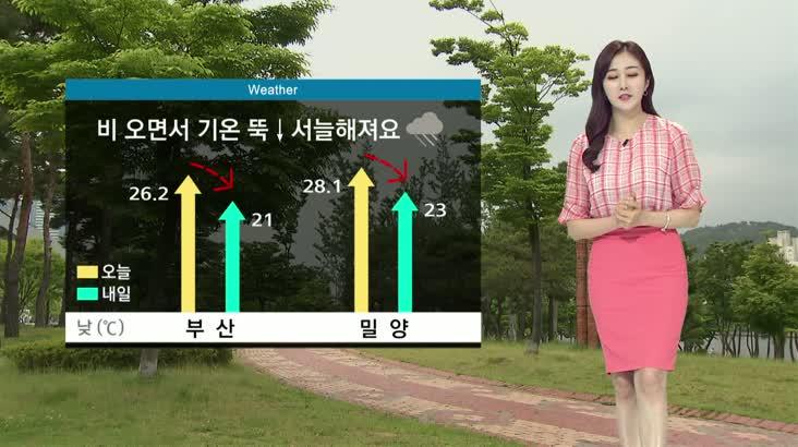 뉴스아이 날씨 6월17일(수)
