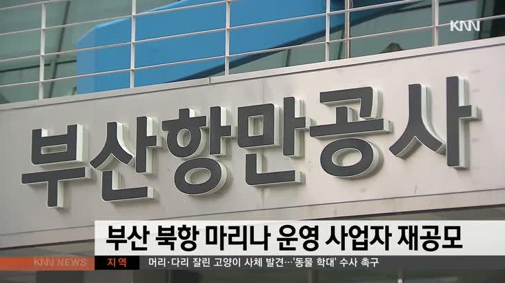 부산 북항 마리나 운영 사업자 재공모