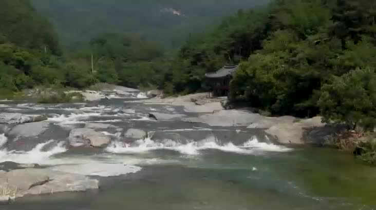 (07/30 방영) 물 흐르는 대로 살고파, 함양 화림계곡