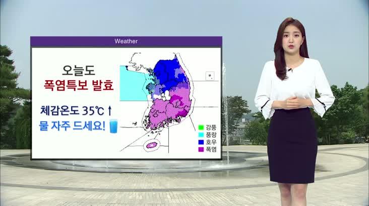 모닝통통통 날씨 0803(월)