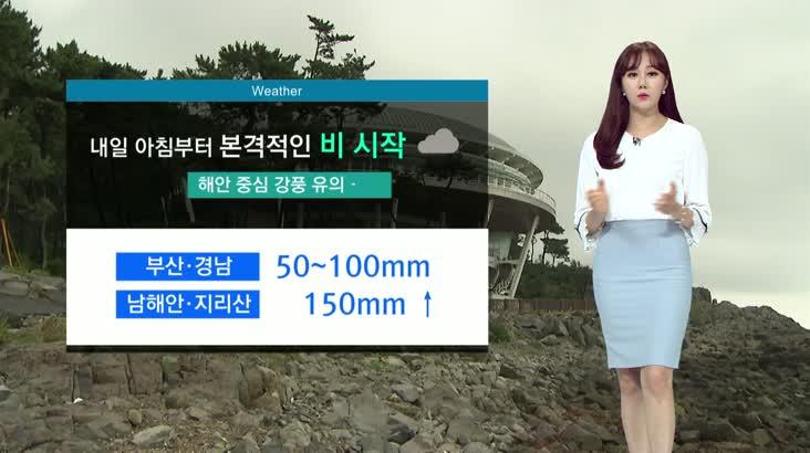 뉴스아이 날씨 8월5일(수)