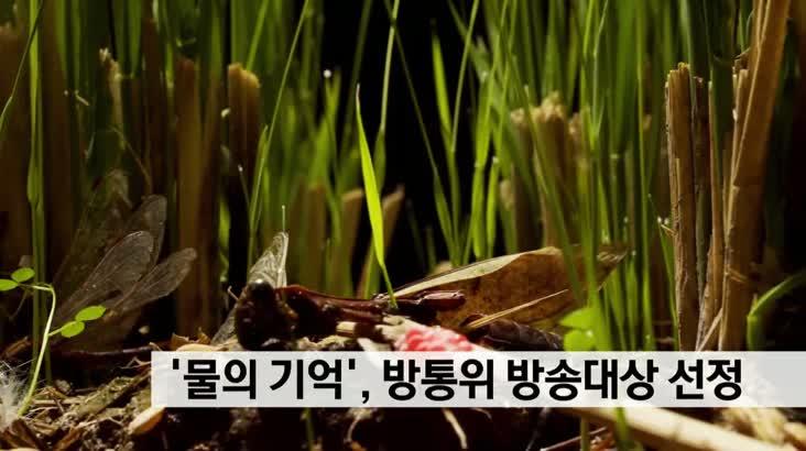 '물의기억', 2020 방송통신위원회 방송대상 선정