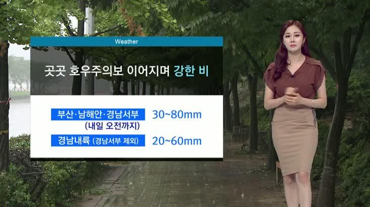 뉴스아이 날씨 8월11일(화)