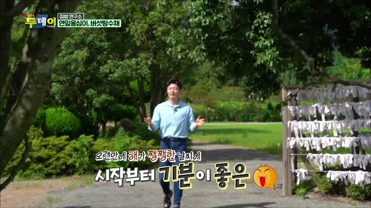 (08/18 방영) 집밥 연구소 – 연잎 옹심이, 버섯탕수채