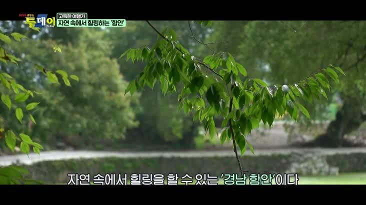(08/28 방영) 고독한 여행가 – 짜릿함과 힐링이 공존하는 '함안'