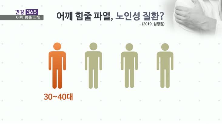 """[건강365]-어깨 힘줄, 치료 늦으면 재파열! 10/15 2'05"""""""