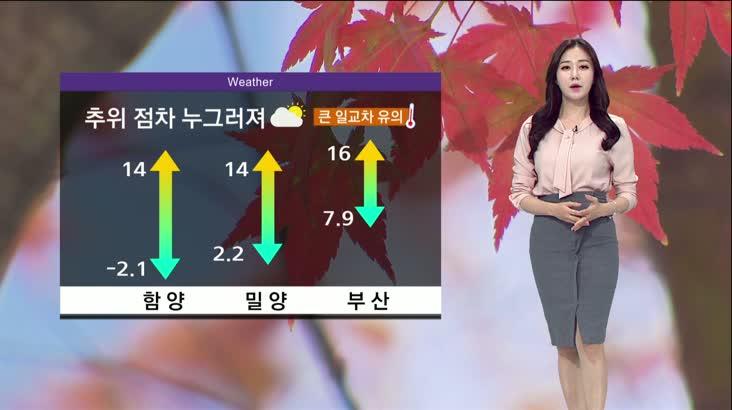 모닝통통통 날씨 11월25일(수)