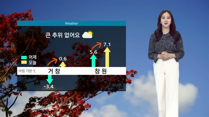 모닝와이드 날씨 11월26일(목)