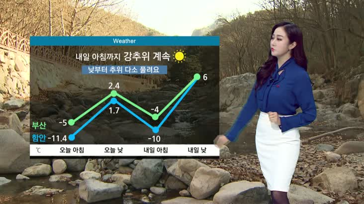뉴스아이 날씨 12월16일(수)