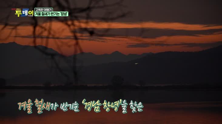 (12/18 방영) 고독한 여행가 – 고독한 여행가 – 겨울 철새가 반기는 '창녕'