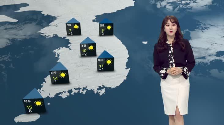 모닝와이드 날씨 1월14일(목)