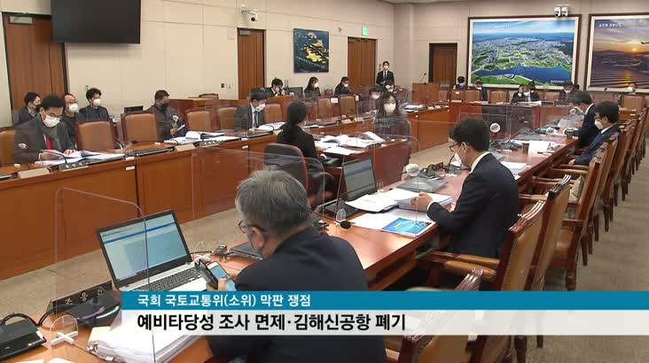 """가덕신공항 특별법 국토위 통과, """"순풍 달았다"""""""