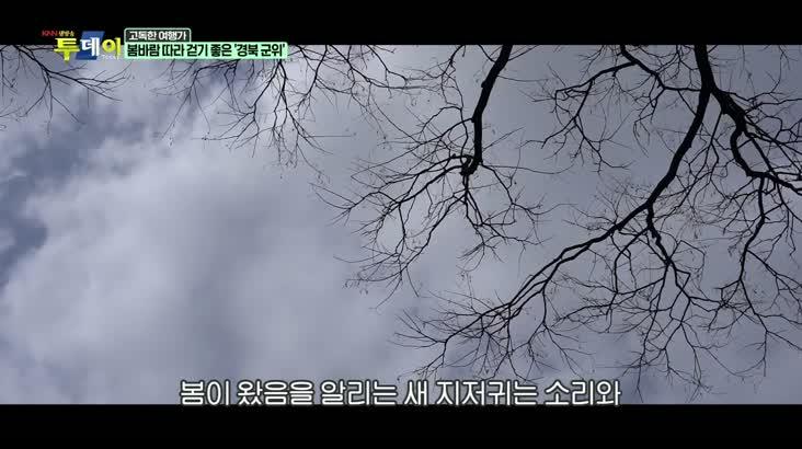 (03/24 방영) 고독한 여행가 – 봄바람 따라 걷기 좋은 ''경북 군위''