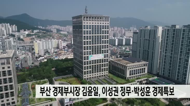부산 경제부시장에 김윤일…이성권 정무·박성훈 경제특보