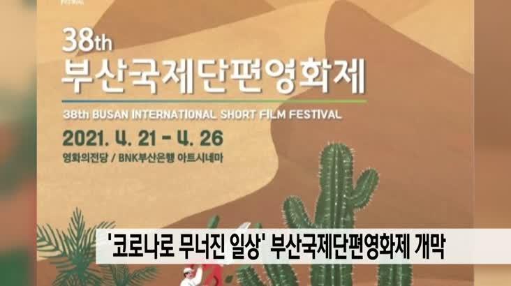 '코로나로 무너진 일상 '부산국제단편영화제 개막
