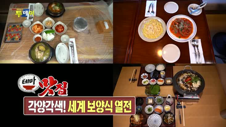 (08/10 방영) 테마맛집 – 세계 보양식 열전