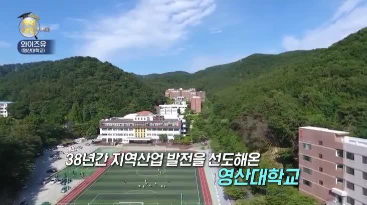 (08/18 방영) 특집 2022 지역대학을 가다 – 와이즈유(영산대학교)