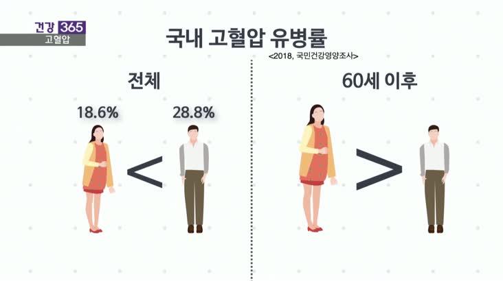 [건강365]-고혈압은 남성질환? 여성도 주의