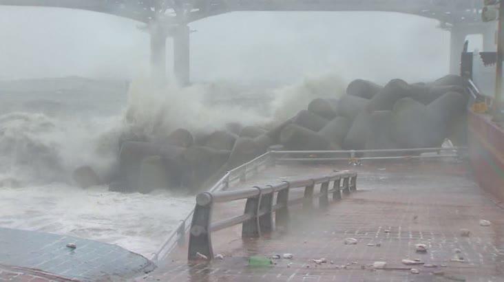 [속보]태풍 찬투 북상, 부산경남 긴장