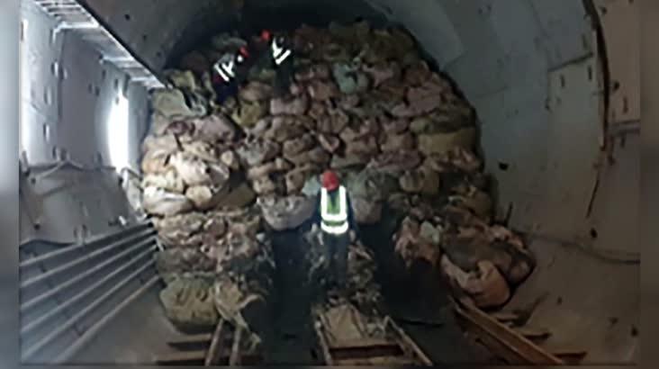 부전마산 복선전철 터널붕괴 사고조사만 2년?