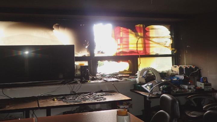 학원에서 3D 프린터 폭발, 인명피해 없어
