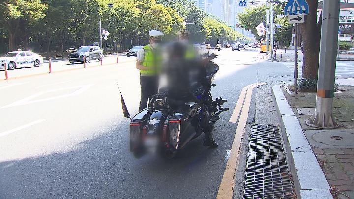 해운대, 오토바이 법 위반 170건 적발